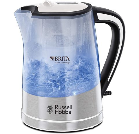 Side view of the Russell Hobbs 22851 kettle.
