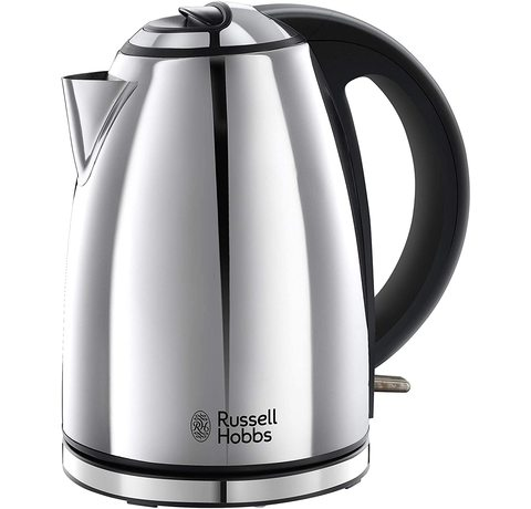 Side view of the Russell Hobbs 23601 Henley Kettle.