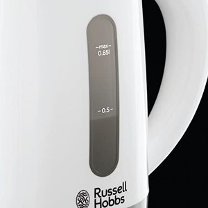 Russell Hobbs 23840 Compact Travel Electric Kettle's water gauge.